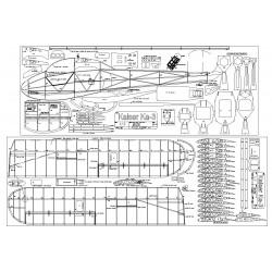 1/3 Scale Kaiser Ka3 Plans