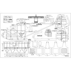 1/4 Scale Opel Rak1 Plans
