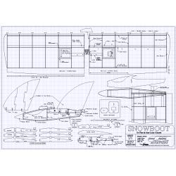 SnowBoot Flying wing plan